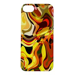 Colourful Abstract Background Design Apple iPhone 5S/ SE Hardshell Case