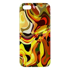 Colourful Abstract Background Design iPhone 5S/ SE Premium Hardshell Case