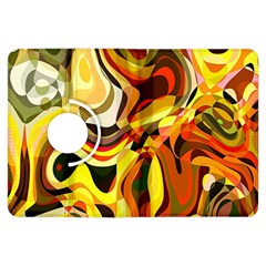 Colourful Abstract Background Design Kindle Fire Hdx Flip 360 Case