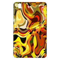 Colourful Abstract Background Design Samsung Galaxy Tab Pro 8 4 Hardshell Case