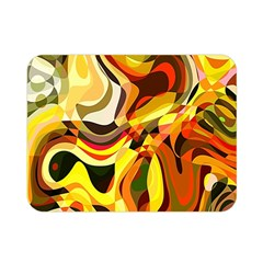 Colourful Abstract Background Design Double Sided Flano Blanket (mini)