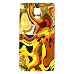 Colourful Abstract Background Design Galaxy Note 4 Back Case
