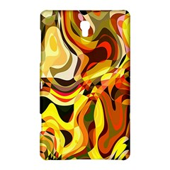 Colourful Abstract Background Design Samsung Galaxy Tab S (8.4 ) Hardshell Case