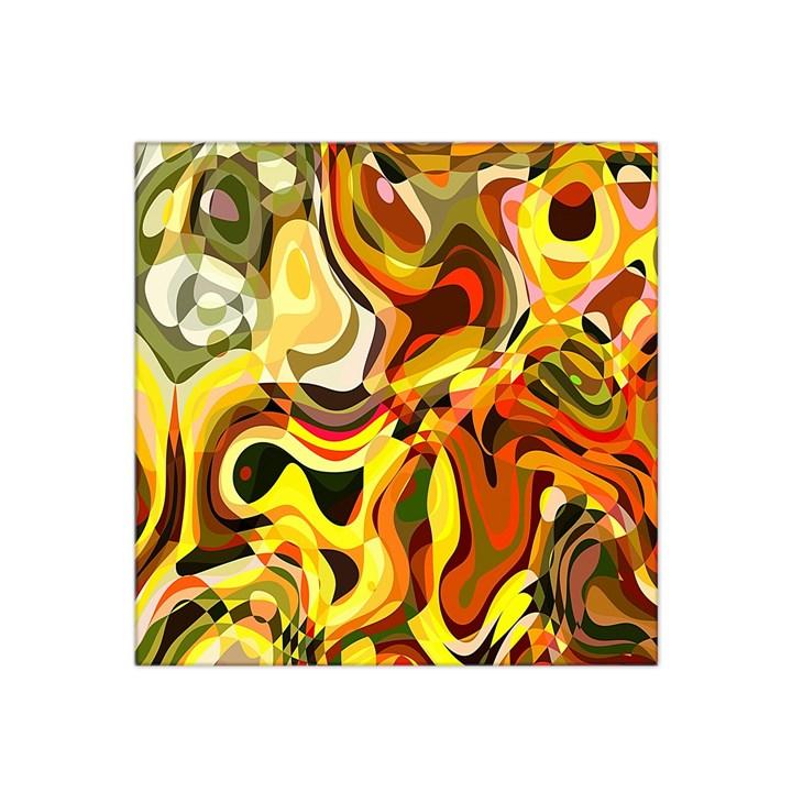 Colourful Abstract Background Design Satin Bandana Scarf