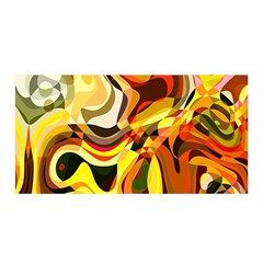 Colourful Abstract Background Design Satin Wrap