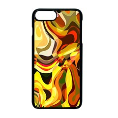 Colourful Abstract Background Design Apple Iphone 7 Plus Seamless Case (black)