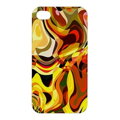 Colourful Abstract Background Design Apple iPhone 4/4S Premium Hardshell Case