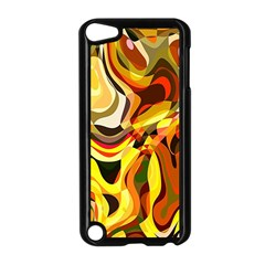 Colourful Abstract Background Design Apple iPod Touch 5 Case (Black)