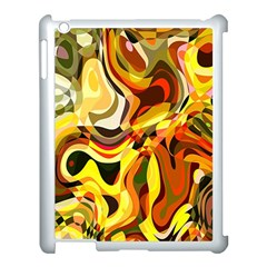 Colourful Abstract Background Design Apple Ipad 3/4 Case (white)