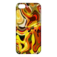Colourful Abstract Background Design Apple Iphone 5c Hardshell Case