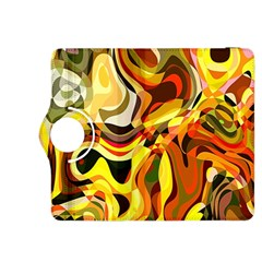 Colourful Abstract Background Design Kindle Fire HDX 8.9  Flip 360 Case