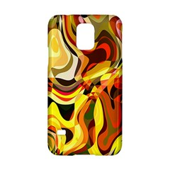 Colourful Abstract Background Design Samsung Galaxy S5 Hardshell Case