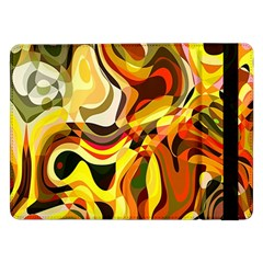 Colourful Abstract Background Design Samsung Galaxy Tab Pro 12 2  Flip Case