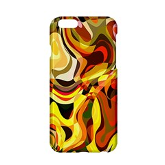 Colourful Abstract Background Design Apple Iphone 6/6s Hardshell Case