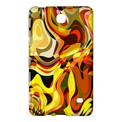 Colourful Abstract Background Design Samsung Galaxy Tab 4 (8 ) Hardshell Case