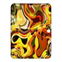 Colourful Abstract Background Design Samsung Galaxy Tab 4 (10 1 ) Hardshell Case