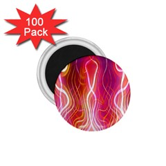 Fire Flames Abstract Background 1.75  Magnets (100 pack)