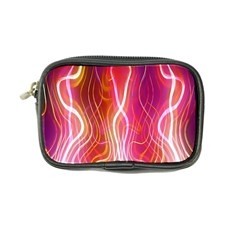 Fire Flames Abstract Background Coin Purse