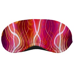 Fire Flames Abstract Background Sleeping Masks