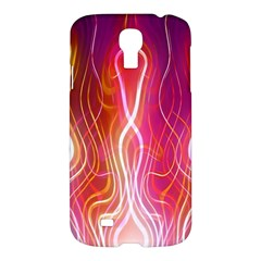 Fire Flames Abstract Background Samsung Galaxy S4 I9500/i9505 Hardshell Case