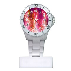 Fire Flames Abstract Background Plastic Nurses Watch