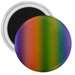 Colorful Stipple Effect Wallpaper Background 3  Magnets