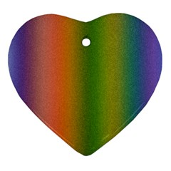 Colorful Stipple Effect Wallpaper Background Ornament (Heart)