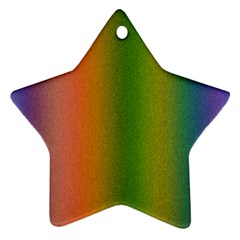 Colorful Stipple Effect Wallpaper Background Ornament (star)