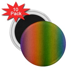 Colorful Stipple Effect Wallpaper Background 2 25  Magnets (10 Pack)