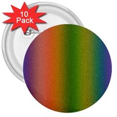Colorful Stipple Effect Wallpaper Background 3  Buttons (10 pack)