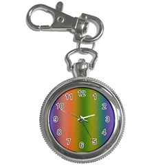 Colorful Stipple Effect Wallpaper Background Key Chain Watches