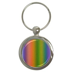 Colorful Stipple Effect Wallpaper Background Key Chains (round)