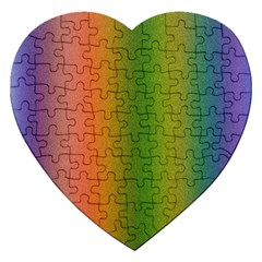 Colorful Stipple Effect Wallpaper Background Jigsaw Puzzle (heart)