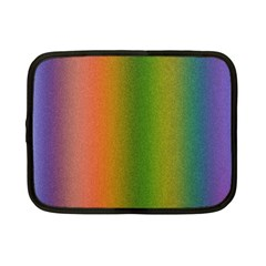 Colorful Stipple Effect Wallpaper Background Netbook Case (small)