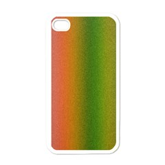 Colorful Stipple Effect Wallpaper Background Apple Iphone 4 Case (white)