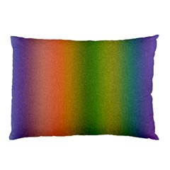 Colorful Stipple Effect Wallpaper Background Pillow Case (Two Sides)