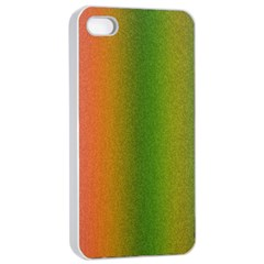 Colorful Stipple Effect Wallpaper Background Apple iPhone 4/4s Seamless Case (White)