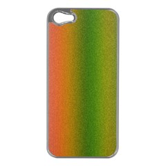 Colorful Stipple Effect Wallpaper Background Apple iPhone 5 Case (Silver)