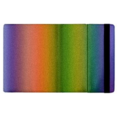 Colorful Stipple Effect Wallpaper Background Apple iPad 3/4 Flip Case