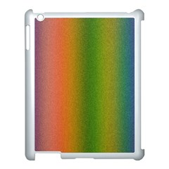 Colorful Stipple Effect Wallpaper Background Apple Ipad 3/4 Case (white)