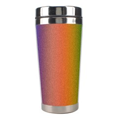 Colorful Stipple Effect Wallpaper Background Stainless Steel Travel Tumblers