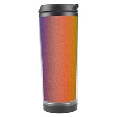 Colorful Stipple Effect Wallpaper Background Travel Tumbler