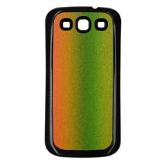 Colorful Stipple Effect Wallpaper Background Samsung Galaxy S3 Back Case (black)