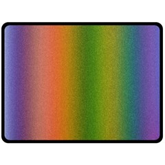 Colorful Stipple Effect Wallpaper Background Double Sided Fleece Blanket (Large)