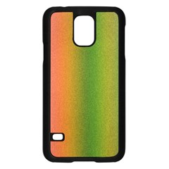 Colorful Stipple Effect Wallpaper Background Samsung Galaxy S5 Case (Black)