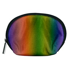 Colorful Stipple Effect Wallpaper Background Accessory Pouches (Medium)