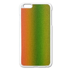 Colorful Stipple Effect Wallpaper Background Apple iPhone 6 Plus/6S Plus Enamel White Case
