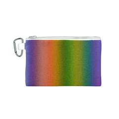 Colorful Stipple Effect Wallpaper Background Canvas Cosmetic Bag (s)