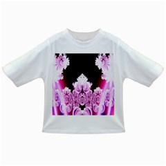 Fractal In Pink Lovely Infant/toddler T Shirts
