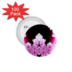 Fractal In Pink Lovely 1.75  Buttons (100 pack)